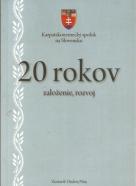 Ondrej Pöss- Karpatskonemecký spolok na Slovensku / 20 rokov