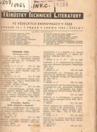 kolektív- Přírůstky technické literatury 1964