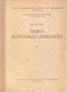 Ján Béder- Dejiny Slovenskej literatúry I.