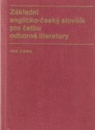 Jan Caha- Základní Anglicko - Český slovník pro četbu odborné literatury