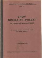 F.Vřeský- Chov domácich zierat