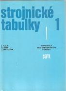 J. Fiala, A. Bebr, Z. Matouška: Strojnické tabulky I.-III.