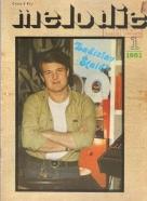 kolektív- Časopis melodie 1-12 / 1981