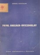 A.Kostolný- P.O.Hviezdoslav