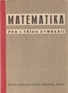 E.Čech- Matematika pro 1. třídu gymnasií