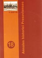kolektív- Annales historici Presovienses 18
