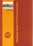 kolektív- Annales historici Presovienses 16