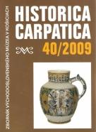 kolektív- Historica Carpatica 40/2009