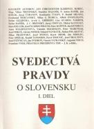 kolektív- Svedectvá o pravdy o Slovensku